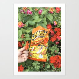 Hot Cheetos Pt.2 Art Print