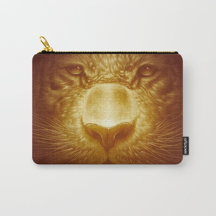 Gold Tiger Carry-All Pouch