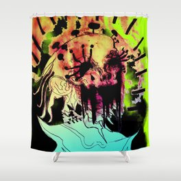 STARS IN THE SKY Shower Curtain