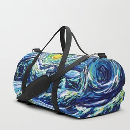 Tardis Lost In The Middle Wave Duffle Bag