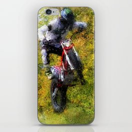 Extreme Biker - Dirt Bike Rider iPhone Skin