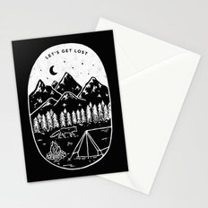 Let's Get Lost III Stationery Cards
