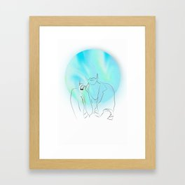 Greg Framed Art Print