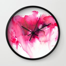 When The Heart Bleeds Wall Clock