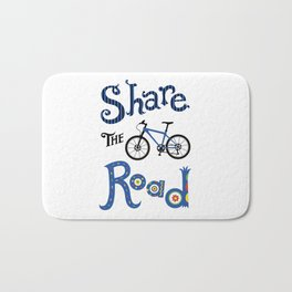 Share the Road Bath Mat