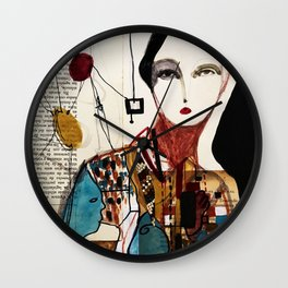 Nouveau Reminiscence Wall Clock