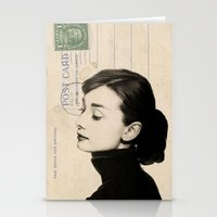 audrey Stationery Cards featuring Audrey by NORI