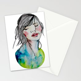 Kindness is an inner desire Stationery Cards