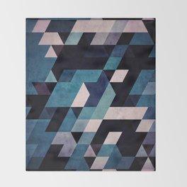 blux redux Throw Blanket