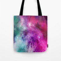 xmas Tote Bags featuring MASON by Kali Laine Photography