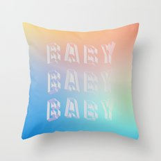 BABY BABY BABY Throw Pillow