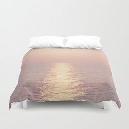 cashmere rose sunset Duvet Cover