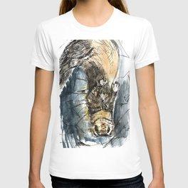 She is a ferret T-shirt