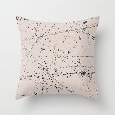 Dazed + Confused [Cream] Throw Pillow