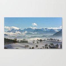 Switzerland, Neuheim Canvas Print