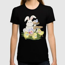 White Rabbit and Easter Friends T-shirt