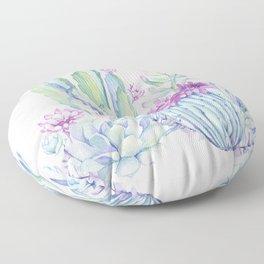 Mixed Cacti Pink #society6 #buyart Floor Pillow