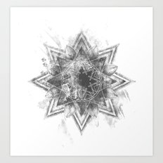 The Darken Stars Art Print