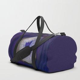 Blue agate gem pattern Duffle Bag