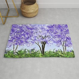 Imaginary Spring Time In Russia Rug