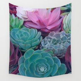 Succulents 2 Wall Tapestry