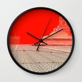 Squared:Country Wall Clock
