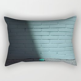 Blue and shady cube Rectangular Pillow