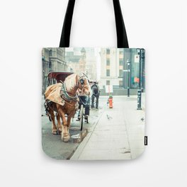 Montreal Taxi Tote Bag
