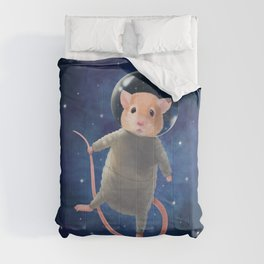 Mouse Astronaut Comforters