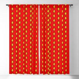 Cartoon Lightning Bolt pattern Blackout Curtain