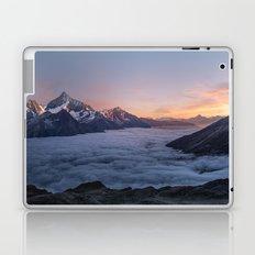 Weisshorn, Switzerland #society6 #decor #buyart Laptop & iPad Skin