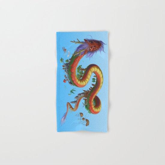 World Dragon Hand & Bath Towel