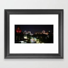 City of Ottawa Skyscape Framed Art Print