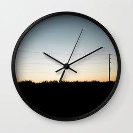 Interstate-5 II Wall Clock