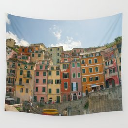 Colorful Cinque Terre 1 Wall Tapestry