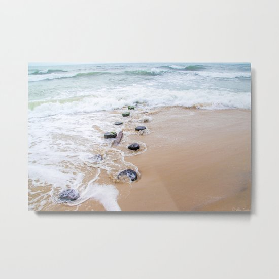 Serenity Retreating Metal Print