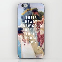their heart grew cold iPhone Skin