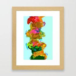 Continent Shuffle  Framed Art Print