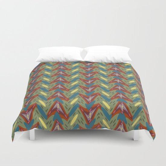 Shapes pattern Duvet Cover