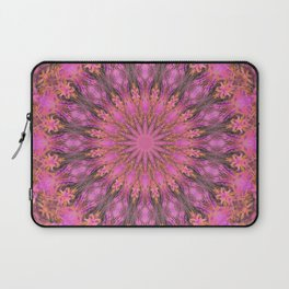 Pink Starflower Laptop Sleeve