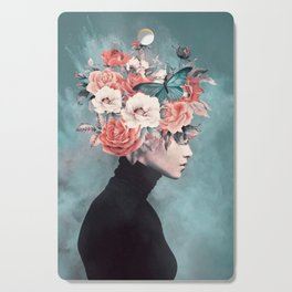 blooming 3 Cutting Board