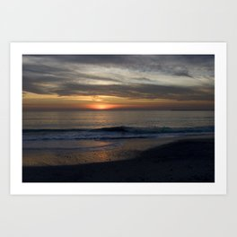 Sunset in California Art Print