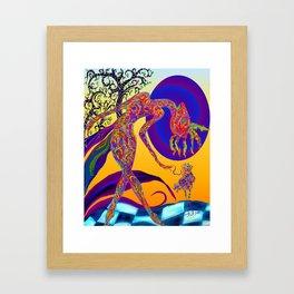 mymy Framed Art Print