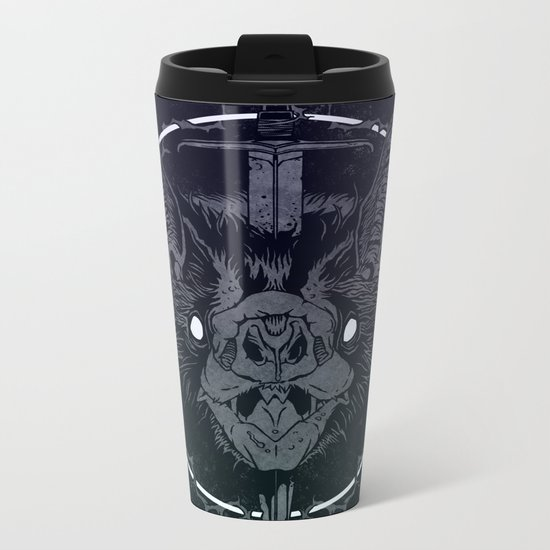 INSOMNIA Metal Travel Mug