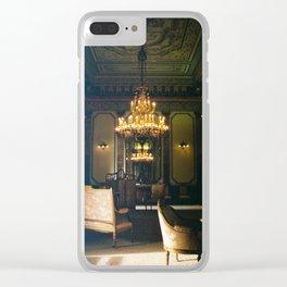 Royal Bedroom Space Chapultepec Castle CDMX 35mm Film Clear iPhone Case