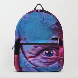 Hannibal Lecter Artistic Illustration Classic Psycho Style Backpack