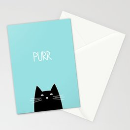 Purr Stationery Cards