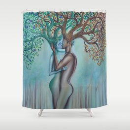 Here Forever Shower Curtain