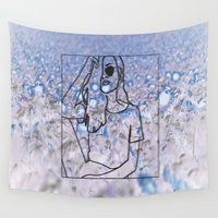 trippy Wall Tapestries featuring trippy by Amanda Yeung