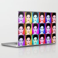 emma watson Laptop & iPad Skins featuring Emma Watson by Joe Hilditch